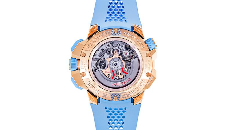 Jacob & Co. Epic X Chrono Sky Blue