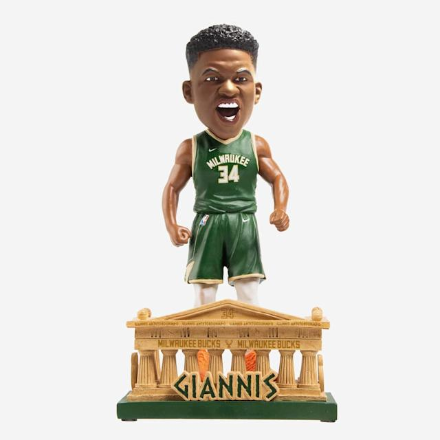 Giannis Bucks Greece Bobblehead