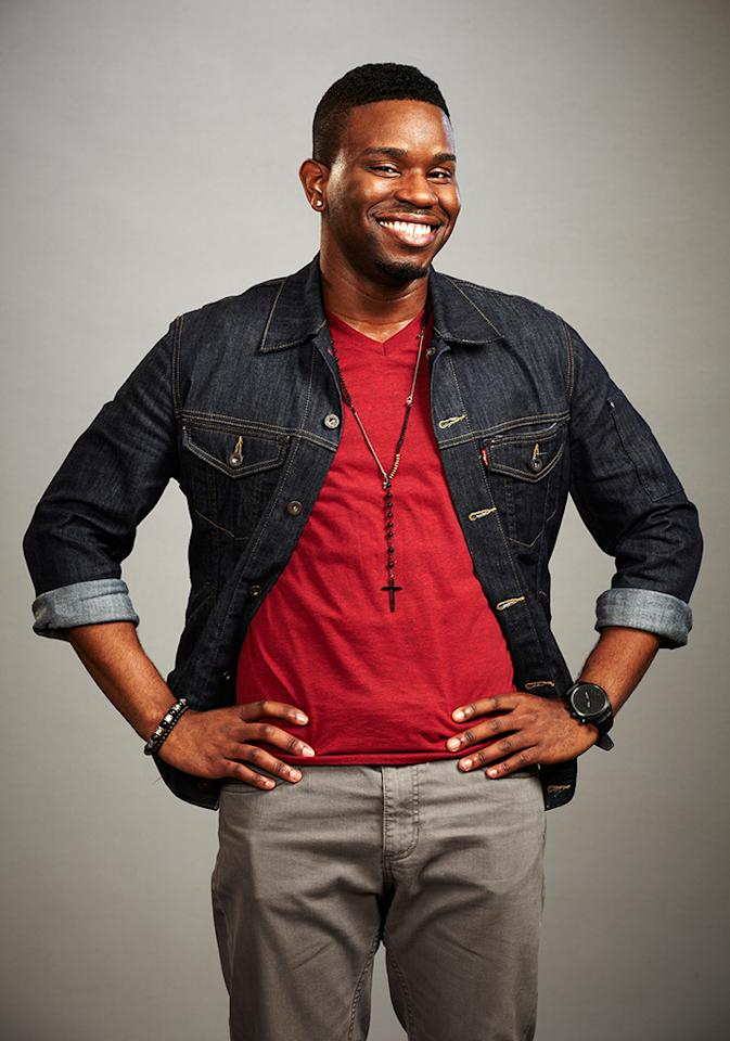 "Orlando Dixon joins Team Usher on ""The Voice"" Season 4."