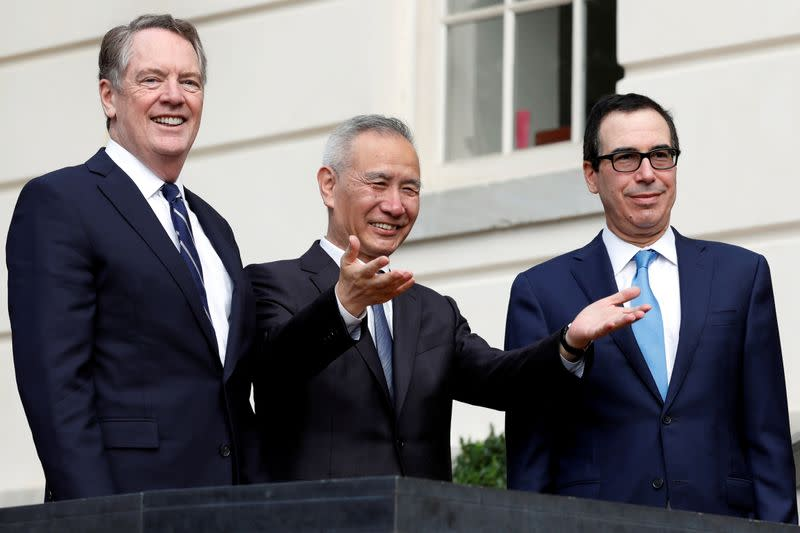 U.S. top trade negotiator praises deal, China remains cautious