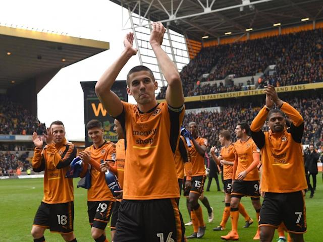 Wolves celebrate promotion to Premier League with victory over Birmingham