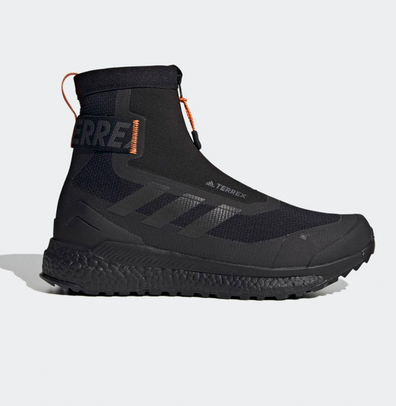"""<p><strong>Adidas</strong></p><p>adidas.com</p><p><strong>$250.00</strong></p><p><a href=""""https://go.redirectingat.com?id=74968X1596630&url=https%3A%2F%2Fwww.adidas.com%2Fus%2Fterrex-free-hiker-cold.rdy-hiking-boots%2FFU7217.html&sref=https%3A%2F%2Fwww.esquire.com%2Fstyle%2Fmens-fashion%2Fg29339512%2Fbest-winter-sneakers%2F"""" rel=""""nofollow noopener"""" target=""""_blank"""" data-ylk=""""slk:Buy"""" class=""""link rapid-noclick-resp"""">Buy</a></p><p>Adidas' Terrex line makes stylish gear specifically designed to stand up to the worst of the elements, and this hiking boot/sneaker hybrid—featuring a waterproof GORE-TEX membrane and the brand's signature Boost technology— is no exception.</p>"""