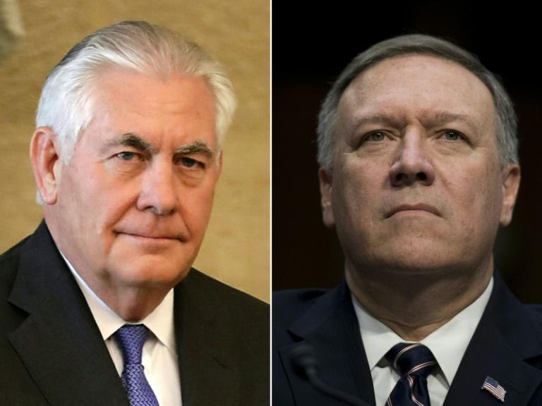 US President Donald Trump is replacing Rex Tillerson as secretary of state with Mike Pompeo, who has led the CIA since January 2017