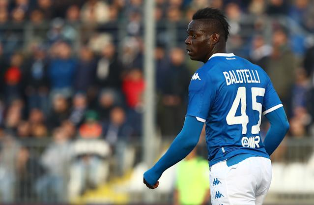 Mario Balotelli of Brescia (Credit: Getty Images)
