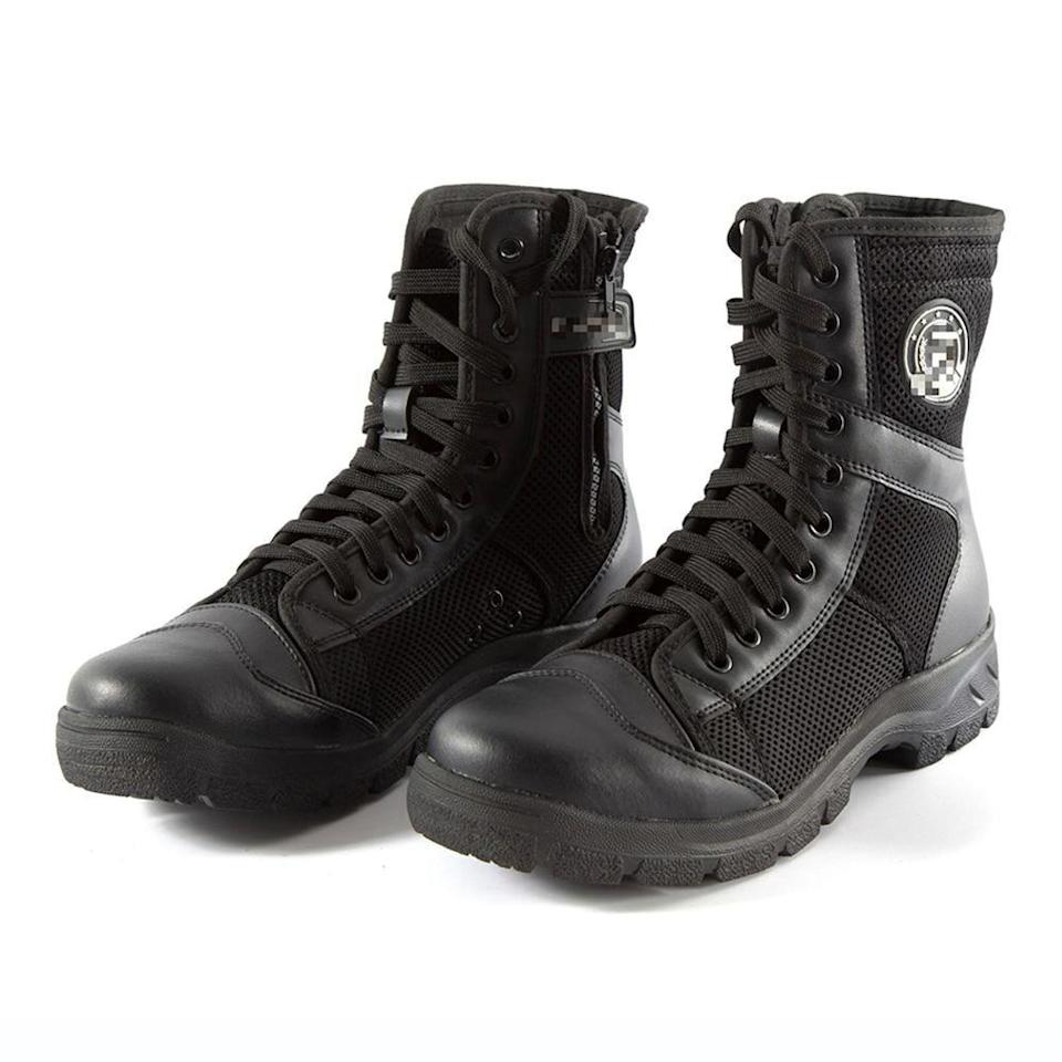 """<p>foresport.net</p><p><a href=""""https://go.redirectingat.com?id=74968X1596630&url=https%3A%2F%2Fforesport.net%2Fproduct%2Fcomfortable-motorcycle-boots-easy-to-wear-motorcycle-boot-high-quality-biker-boots-best-sidi-boots-motorcycle-boots-excellent-motorcycle-boot%2F&sref=https%3A%2F%2Fwww.menshealth.com%2Fstyle%2Fg37131767%2Fbest-motorcycle-boots%2F"""" rel=""""nofollow noopener"""" target=""""_blank"""" data-ylk=""""slk:BUY IT HERE"""" class=""""link rapid-noclick-resp"""">BUY IT HERE</a></p><p><del>$128.27</del><strong><br>$98.22</strong></p><p>Most motorcycle boots are a bit on the pricey end, but for something on the simpler side that won't cost you too much, these boots are it. At less than $100, they're ideal for those once-in-a-while rides.</p>"""