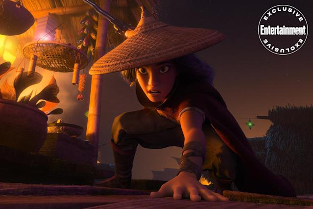 Raya and the Last Dragon reveals first image of action scene in land of  Talon