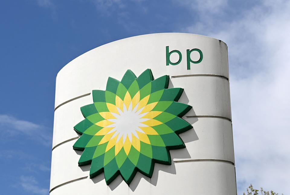 A BP petrol and diesel filling station in north London. Photo: Glyn Kirk/AFP via Getty Images