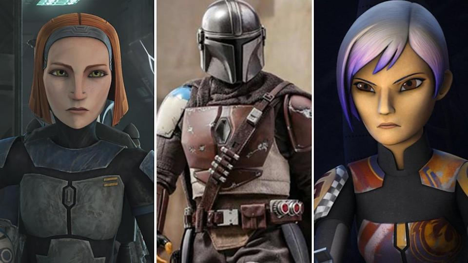 Star Wars: Clone Wars, Rebels, and the Mandalorian
