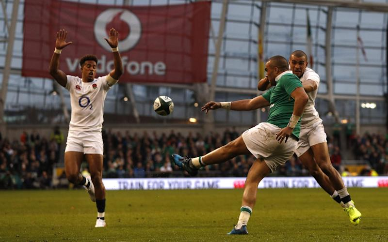 Simon Zebo - Credit: AFP