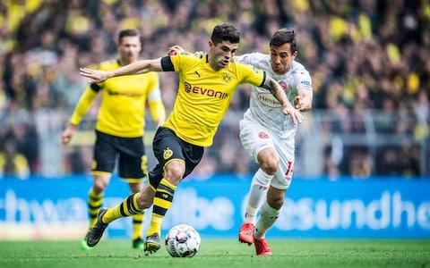 <span>Pulisic had to deal with plenty of pressure at Borussia Dortmund</span> <span>Credit: Getty images </span>