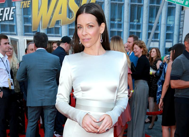 Evangeline Lilly shaves her head and shares a transformation video