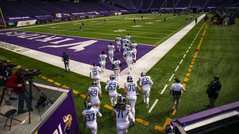 NFL COVID-19 shutdown: Titans, Vikings close facilities after three players test positive
