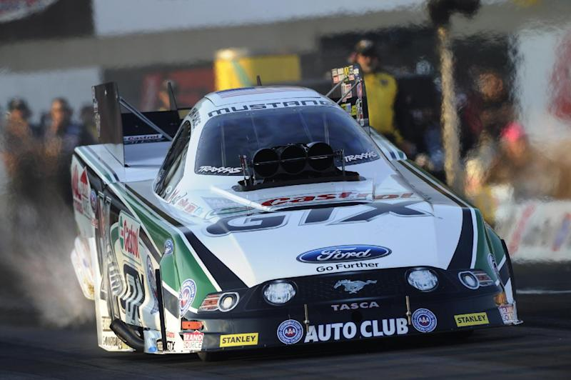 John Force takes Funny Car points lead