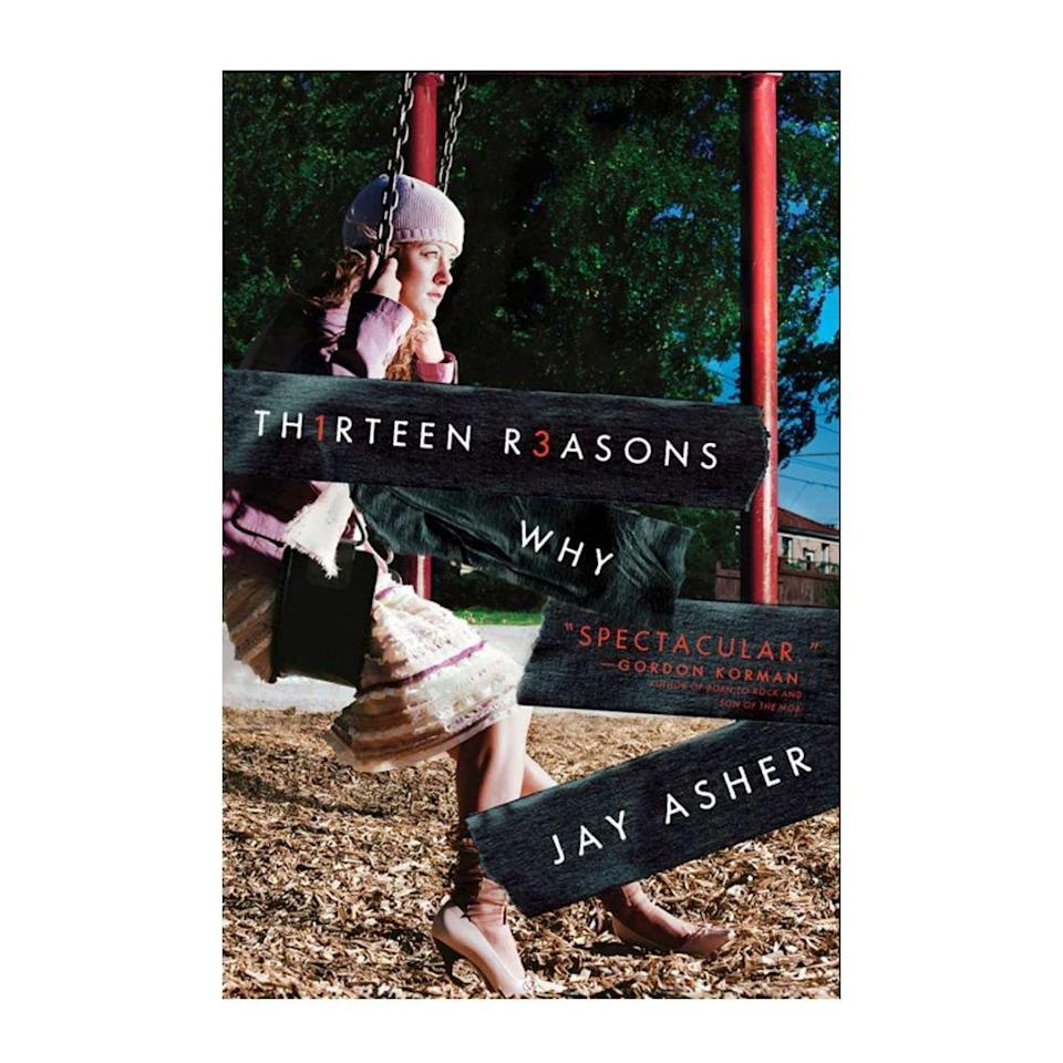 """<p><strong>$6.27</strong> <a class=""""link rapid-noclick-resp"""" href=""""https://www.amazon.com/Thirteen-Reasons-Why-Jay-Asher/dp/159514188X?tag=syn-yahoo-20&ascsubtag=%5Bartid%7C10050.g.35033274%5Bsrc%7Cyahoo-us"""" rel=""""nofollow noopener"""" target=""""_blank"""" data-ylk=""""slk:BUY NOW"""">BUY NOW</a><br></p><p><strong>Genre: </strong>Young Adult<br></p><p>Today a Netflix original series, <em>Thirteen Reasons Why </em>centers around teenager Clay Jensen, who receives a series of cassette tapes recorded by his dead classmate Hanna Baker. In the recordings, she reveals that there were 13 reasons why she killed herself, and Clay was one of them. Her words guide him through her pain and lead him on an unforgettable journey.</p>"""