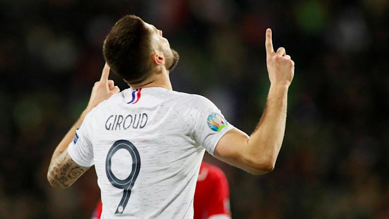 France crush Moldova in Euro 2020 qualifier