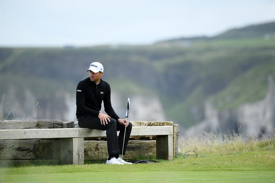 Benjamin Herbert of France takes looks on on the back of fifth green during the first round of the 148th Open Championship held on the Dunluce Links at Royal Portrush Golf Club on July 18, 2019 in Portrush, United Kingdom. (Photo by Matthew Lewis/R&A/R&A via Getty Images)