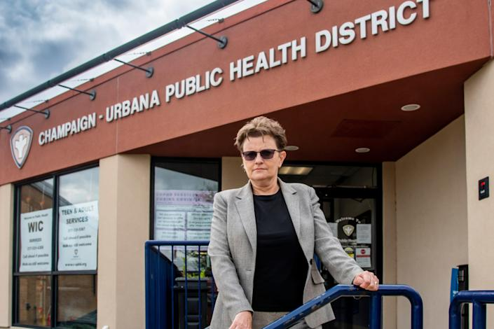 Julie Pryde, director of the Champaign County Public Health district in Illinois, is ramping up her office's efforts against the virus.