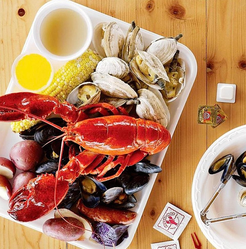 Don't just pass through this tiny village. Call ahead and order a tray piled with lobsters, steamers, and Portuguese sausage. Then take it out to the deck for prime views of the state's largest fishing fleet hauling in the day's catch or, you know, eat it in the car.