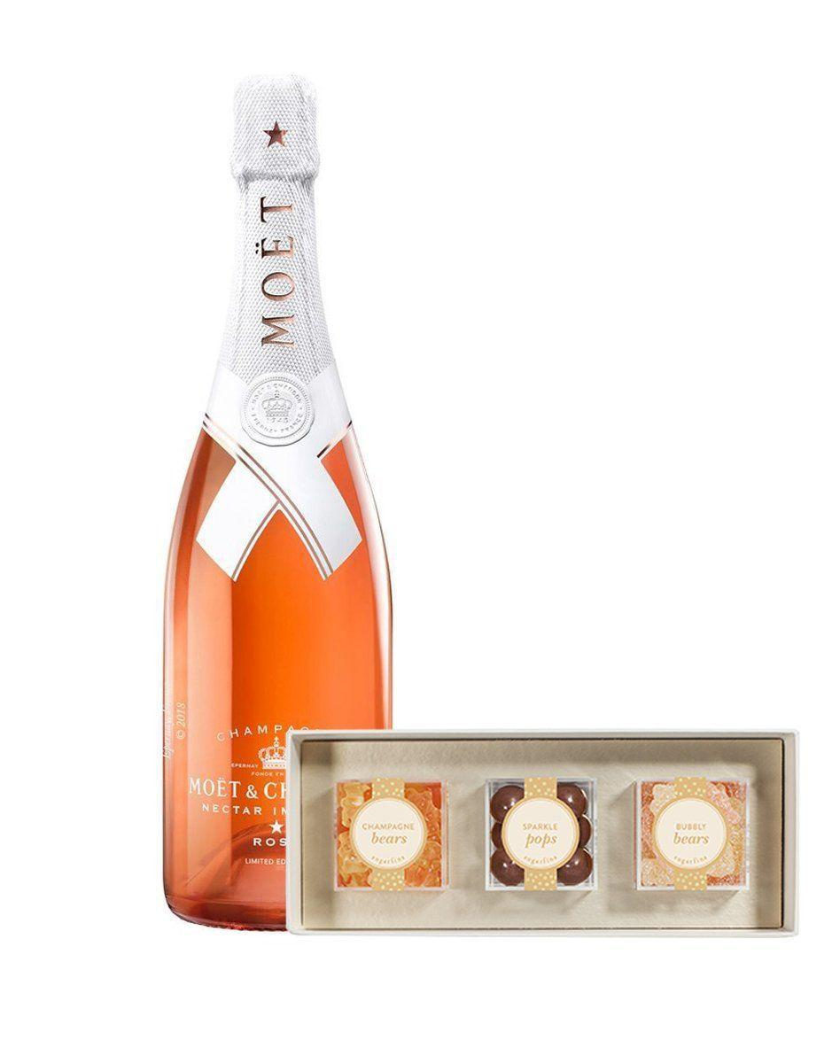 """<p><strong>Moët & Chandon</strong></p><p>reservebar.com</p><p><strong>$127.00</strong></p><p><a href=""""https://go.redirectingat.com?id=74968X1596630&url=https%3A%2F%2Fwww.reservebar.com%2Fproducts%2Fmoet-chandon-nectar-imperial-rose-by-virgil-abloh-with-sweet-sparkling-3pc-candy-bento-box&sref=https%3A%2F%2Fwww.cosmopolitan.com%2Fstyle-beauty%2Ffashion%2Fg33379776%2Fbest-online-gifts%2F"""" rel=""""nofollow noopener"""" target=""""_blank"""" data-ylk=""""slk:Shop Now"""" class=""""link rapid-noclick-resp"""">Shop Now</a></p><p>Although you can't be there to toast them in person, a fancy bottle is always a sweet gift. And this one comes with some gourmet candies too.</p>"""