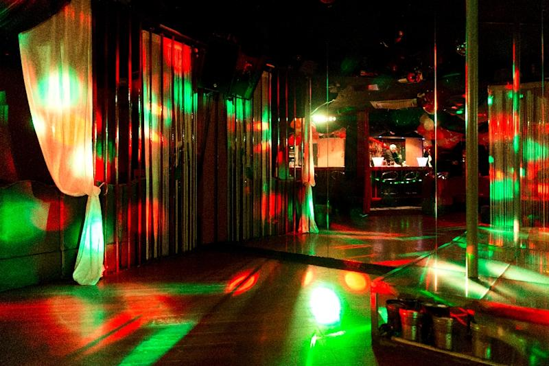 View of a swingers club