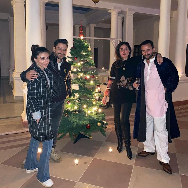 Soha Ali Khan christmas celebraition
