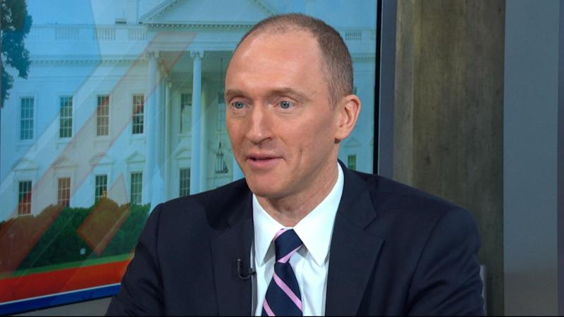 Carter Page Something May Have Come Up In A Conversation With Russians About Us Sanctions