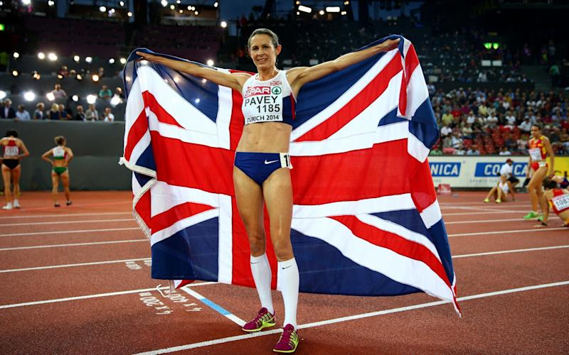 Jo Pavey has won European and Commonwealth medals, but previously missed out on the world podium - Getty Images Sport