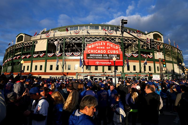 MLB's second-oldest ballpark could be getting a very modern upgrade. (Photo by Rob Tringali/MLB Photos via Getty Images)