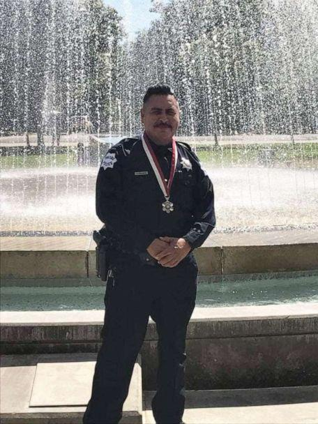 PHOTO: Jesus Salinas worked at the Fresno Police Department for over 20 years until January 2020, when he was medically retired. (Salinas Family)