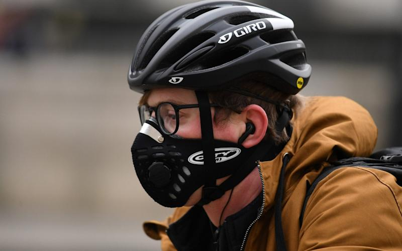 The government has encouraged walking and cycling during the pandemic