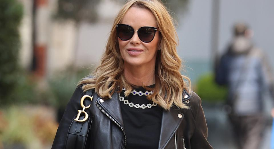 Amanda Holden's snoring habit was exposed on Heart Breakfast Radio by her husband. (Getty Images)