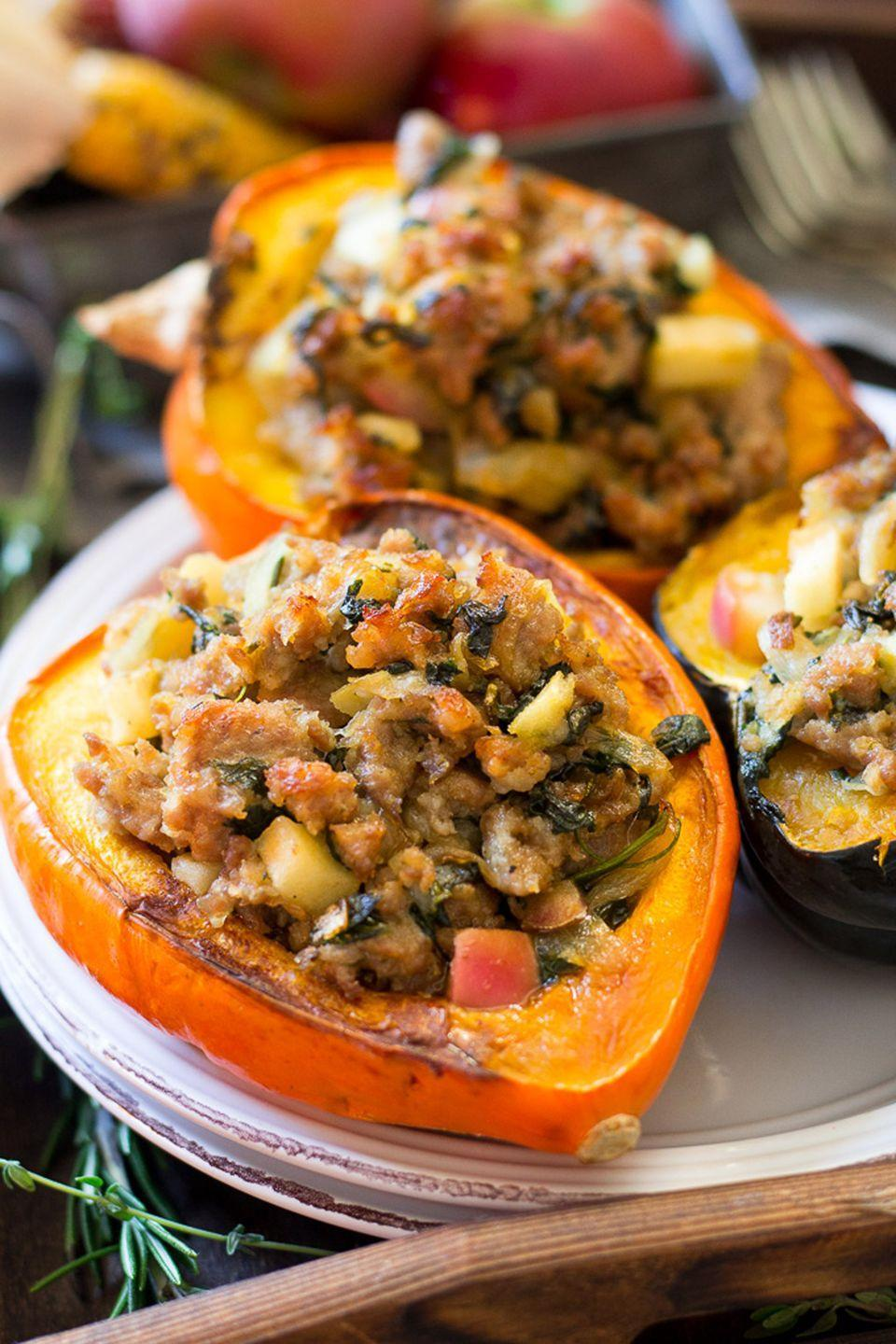 "<p>You can enjoy all the flavors of fall and reach your healthy eating goals. </p><p><strong>Get the recipe at <a href=""https://www.paleorunningmomma.com/sausage-stuffed-acorn-squash-paleo-whole30/"" rel=""nofollow noopener"" target=""_blank"" data-ylk=""slk:Paleo Running Mama"" class=""link rapid-noclick-resp"">Paleo Running Mama</a>.</strong></p><p><a class=""link rapid-noclick-resp"" href=""https://www.amazon.com/Victorinox-Paring-Knife-Straight-Spear/dp/B0019WXPQY?tag=syn-yahoo-20&ascsubtag=%5Bartid%7C10050.g.650%5Bsrc%7Cyahoo-us"" rel=""nofollow noopener"" target=""_blank"" data-ylk=""slk:SHOP PARING KNIVES"">SHOP PARING KNIVES</a><br></p>"