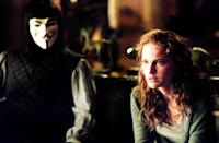 "<p>Yes, <em>V for Vendetta</em> is the movie that Natalie Portman shaved her head for. That's a big commitment to make for a role—and it shows. Portman is absolutely amazing as Evey, a working-class woman who becomes embroiled in a full-on revolution, in this dark political thriller.</p> <p><a href=""https://www.amazon.com/V-Vendetta-Natalie-Portman/dp/B000HVHM5S"" rel=""nofollow noopener"" target=""_blank"" data-ylk=""slk:Available to rent on Amazon Prime"" class=""link rapid-noclick-resp""><em>Available to rent on Amazon Prime</em></a></p>"