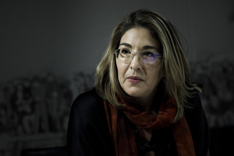 La preiodista y activista canadiense, Naomi Klein (Getty Images)