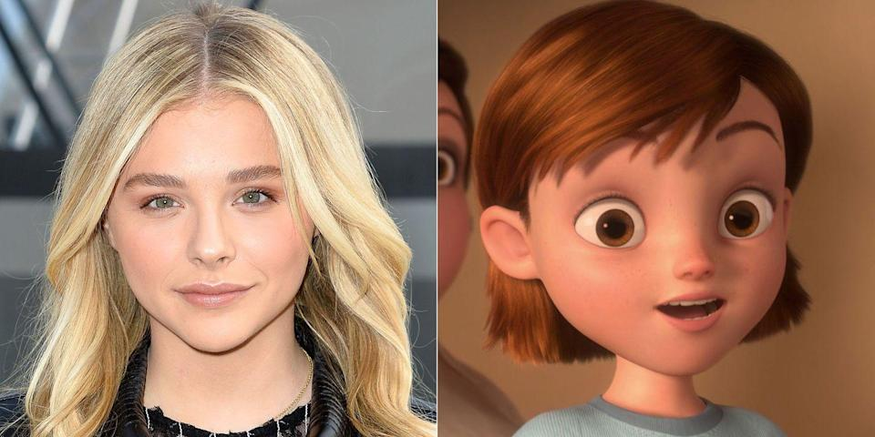 <p>Disney Channel watchers circa 2008 will probably recall that Miley Cyrus voiced the human girl in <em>Bolt</em>, but it'll likely come as a surprise that the younger version of Penny was voiced by not-yet-a-star Chloë Grace Moretz.</p>
