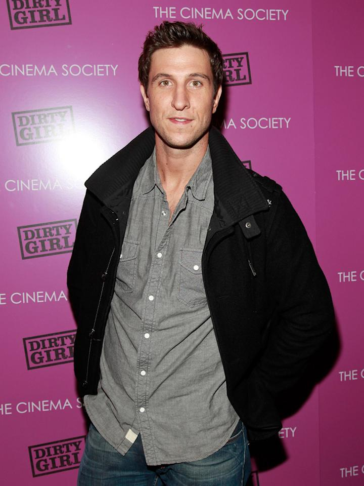 "<a href=""http://movies.yahoo.com/movie/contributor/1808480596"">Pablo Schreiber</a> at the New York Cinema Society screening of <a href=""http://movies.yahoo.com/movie/1810152298/info"">Dirty Girl</a> on October 3, 2011."