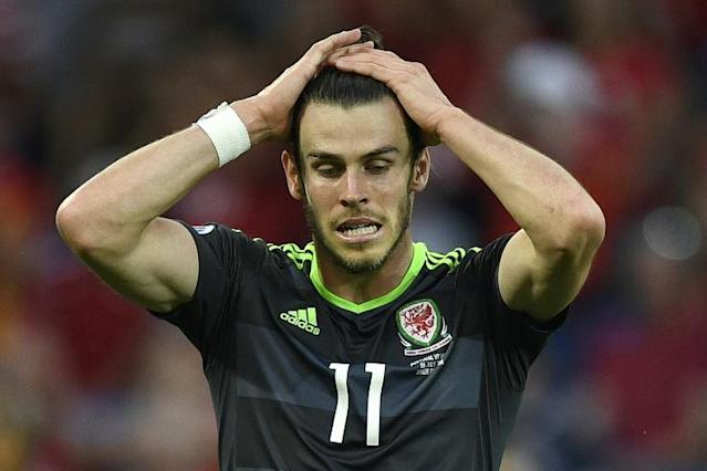 Gareth Bale's Wales side lost in the Euro 2016 semi-finals against Portugal on July 6, 2016 (AFP Photo/Martin Bureau)