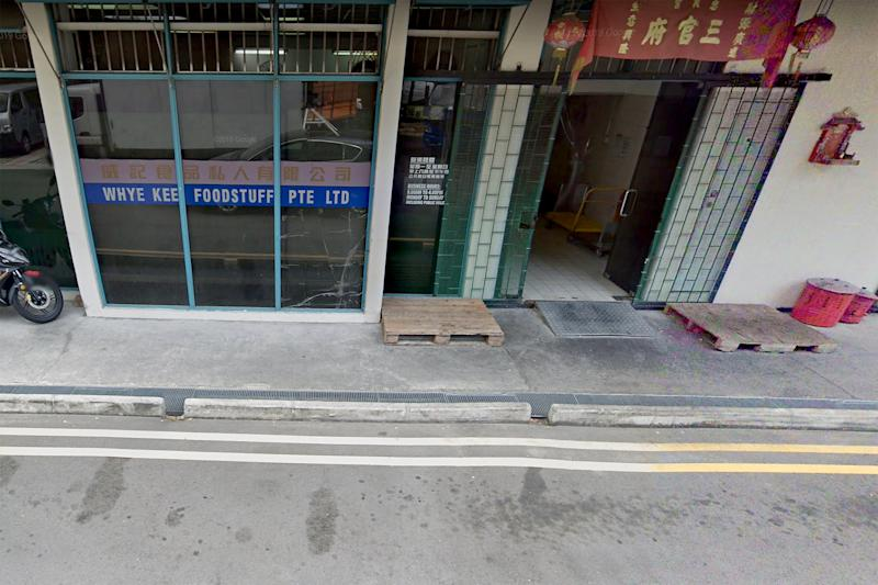 Whye Kee Foodstuff, located at Tai Seng Avenue, was convicted of four charges of discharging effluent containing chemical substances exceeding allowable limits on 11 October 2019. (PHOTO: Google Street View screengrab)