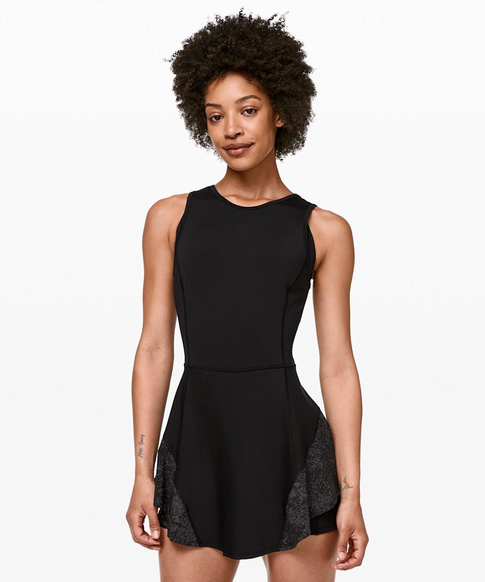 """<h2>Best Luxe<br></h2><br><h3>Lululemon Serene Stride Dress<br></h3><br>Lululemon's fit-and-flare number has hidden bike shorts — with pockets! — to hold small essentials while you keep busy (in the immortal words of Fergie) workin' on your fitness.<br><br><strong>What They're Saying:</strong> """"Dual usage for running and as a cute casual dress. You can see the shorts below the skirt, but I don't mind that, leaves less for others to imagine. The phone pocket is handy and the flouncy skirt covers any bulge from the phone. Material is nice and cool and kept me more comfortable on a four-mile run in hot summer weather. Never thought I'd buy a running dress but I really like it!""""<br><br><strong>Lululemon</strong> Serene Stride Dress, $, available at <a href=""""https://go.skimresources.com/?id=30283X879131&url=https%3A%2F%2Fshop.lululemon.com%2Fp%2Fskirts-and-dresses-dresses%2FSerene-Stride-Dress%2F_%2Fprod9370243%3Fcolor%3D0001"""" rel=""""nofollow noopener"""" target=""""_blank"""" data-ylk=""""slk:Lululemon"""" class=""""link rapid-noclick-resp"""">Lululemon</a>"""
