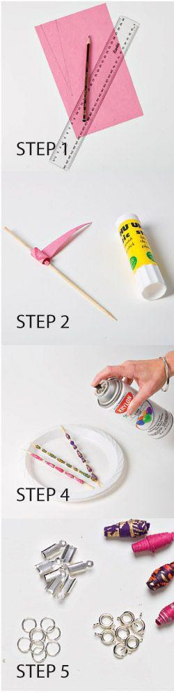 Make Your Own Paper Bead Jewellery