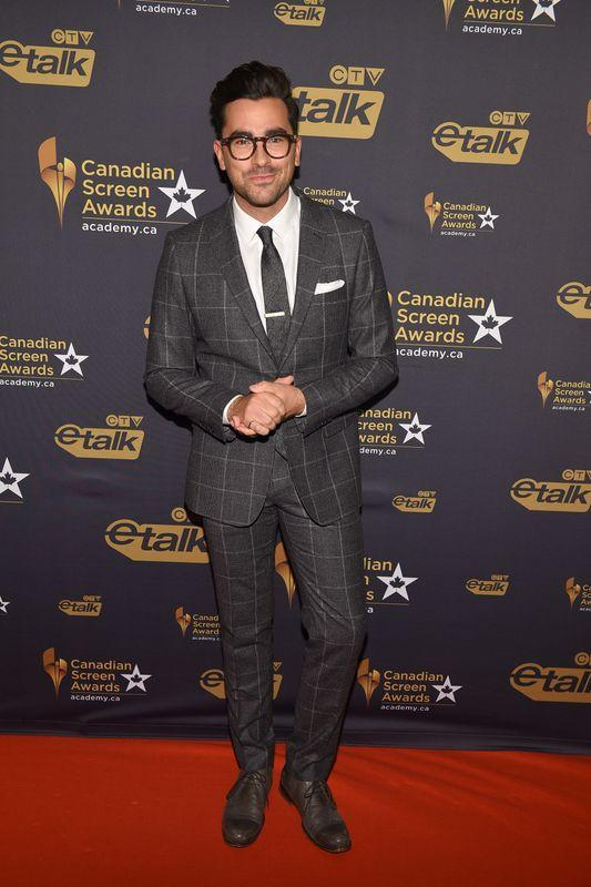 Dan Levy at the Canadian Screen Awards in Toronto on March 9, 2016.