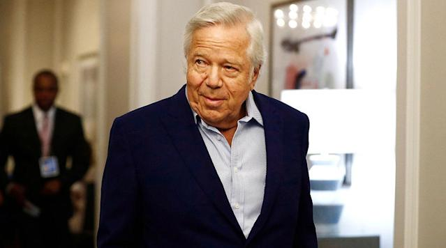 With the video evidence from Kraft's solicitation case thrown out, the general feeling from those at the NFL spring meeting is that the Patriots' owner will not be suspended by the NFL. Plus, answering your questions on Eli Manning, Lamar Jackson, the Patriots' receiver corps and more.
