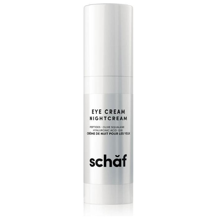 "We&rsquo;re big fans of skin products doing the work for us while we sleep, and this dual-purpose eye and night cream works wonders while we&rsquo;re dreaming.&nbsp;A pat or two under the eyes delivers a firming result for daytime use, while an all-over facial massage with this nourishing night cream before bed does the trick as an anti-aging moisturizer. <a href=""https://www.thedetoxmarket.ca/collections/schaf/products/schaf-nutritive-daily-eye-cream"" target=""_blank"" rel=""noopener noreferrer"">Get it here</a>."