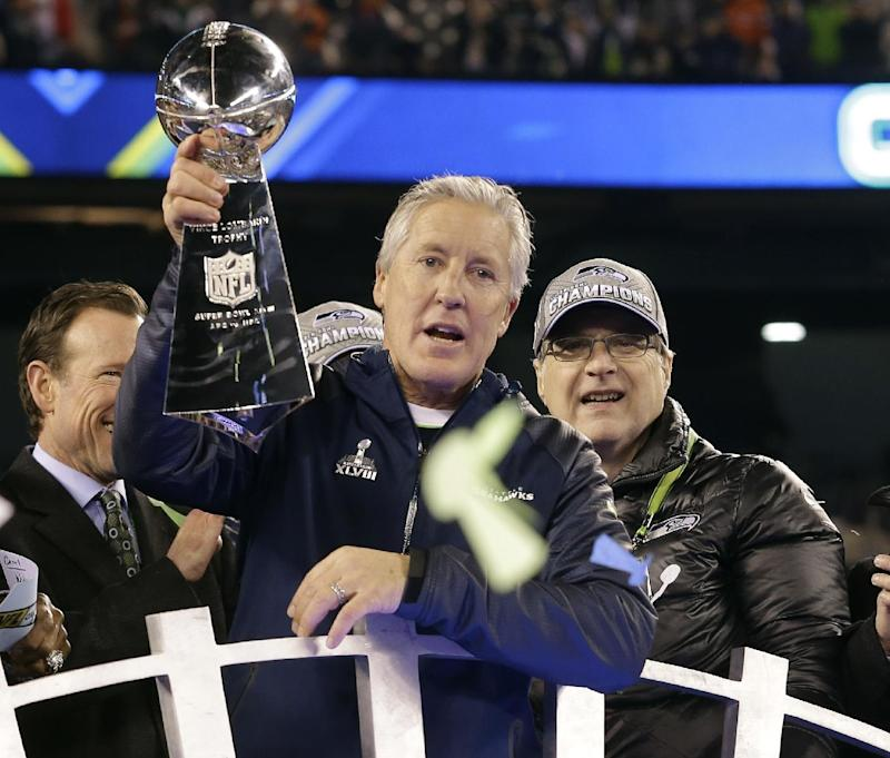 Seahawks ready to start work on Super Bowl defense