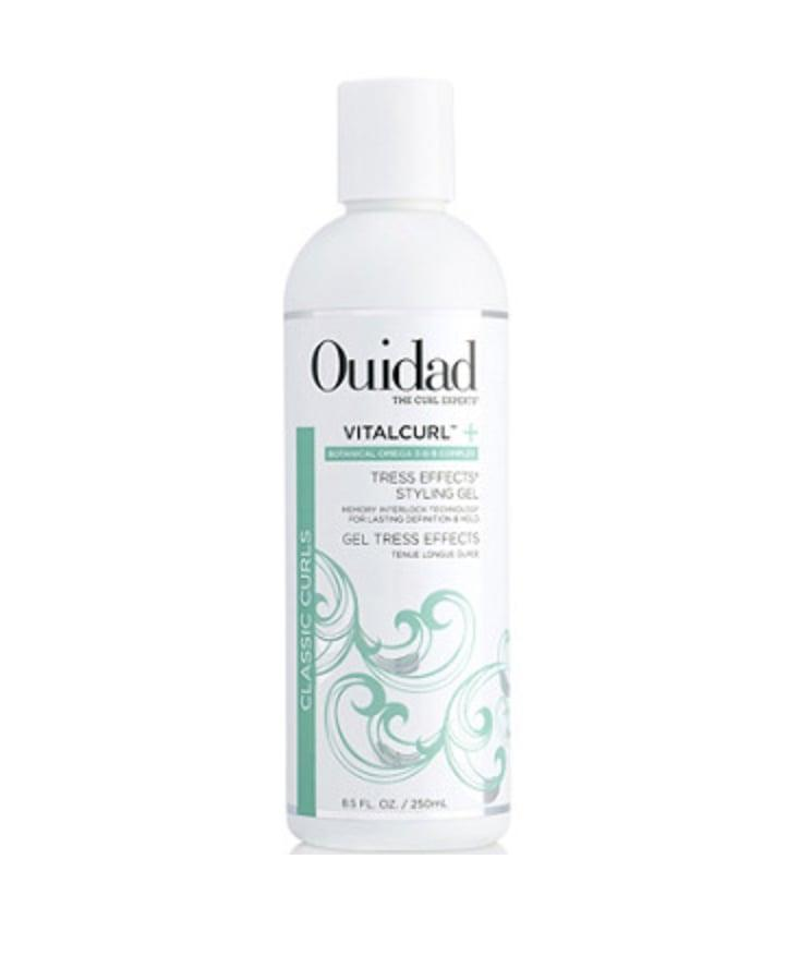 <p>The <span>Ouidad Tress Effects Styling Gel </span> ($26) keeps curls defined and bouncy all day.</p>