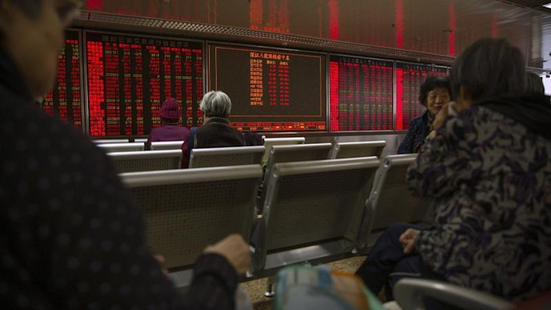 China's stocks sustain rally after vaulting past US$10 trillion mark, Hong Kong cancels trading on typhoon warning