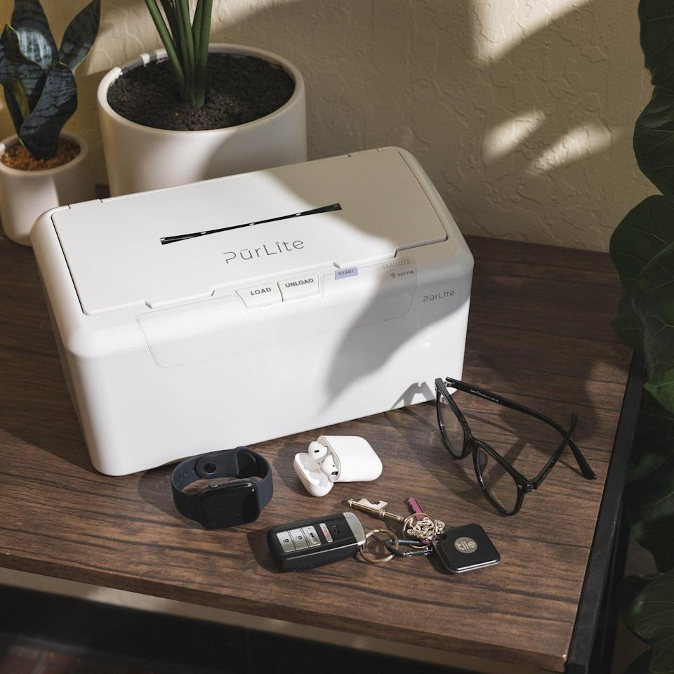 <p>This <span>Purlite Home</span> ($200) isn't just great for your phone, but also keys, watch, headphones . . . the list goes on.</p>