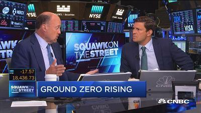 "On Thursday, September 1st at 10pm ET/PT, CNBC presents ""Ground Zero Rising: Freedom vs. Fear,"" a one-hour documentary reported by anchor Jim Cramer that tells the story of the revitalization of the 16-acre site complete with solemn memorial pools, a n..."