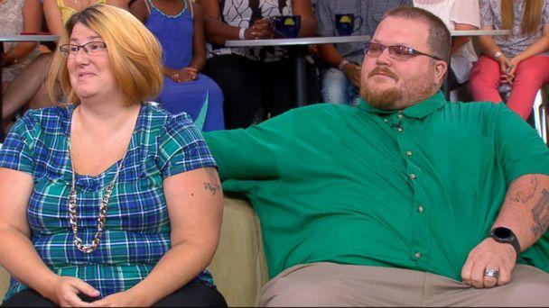PHOTO: Roberta and Bryan Ursrey were reunited on 'Good Morning America' with the Good Samaritans who rescued their family off the coast of Panama City Beach, Fla. (ABC News)