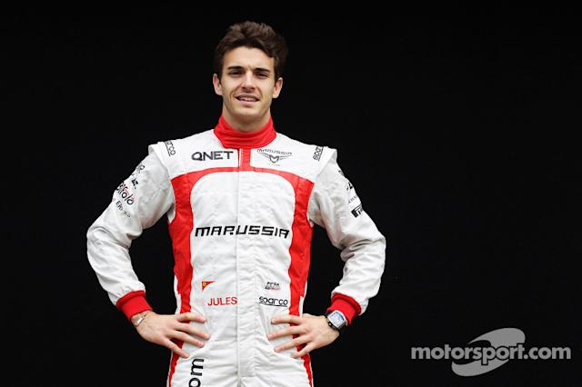 """Jules Bianchi, Marussia F1 Team <span class=""""copyright"""">XPB Images</span>"""